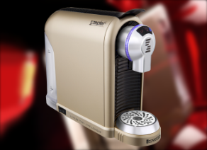 A new-generation of coffee-maker for encapsulated coffee