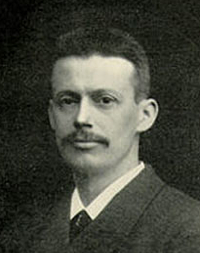 Danish physician Niels Ryberg Finsen who founded modern light therapy about 100 years ago.
