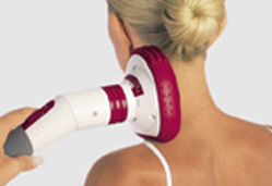 Vibrating gripper with Vital System Hand Massager
